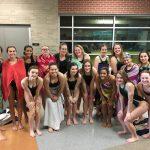 Girls Swim takes 4th at the Turner Invitational Meet