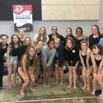 Girls Swim Finishes 3rd at Lansing Meet
