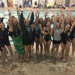 Girls Swimming Wins League Championship
