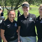 Girls JV Golf Starts Season at Smiley's