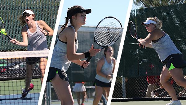 Varsity Girls Tennis takes 3rd at Wildcat Invitational