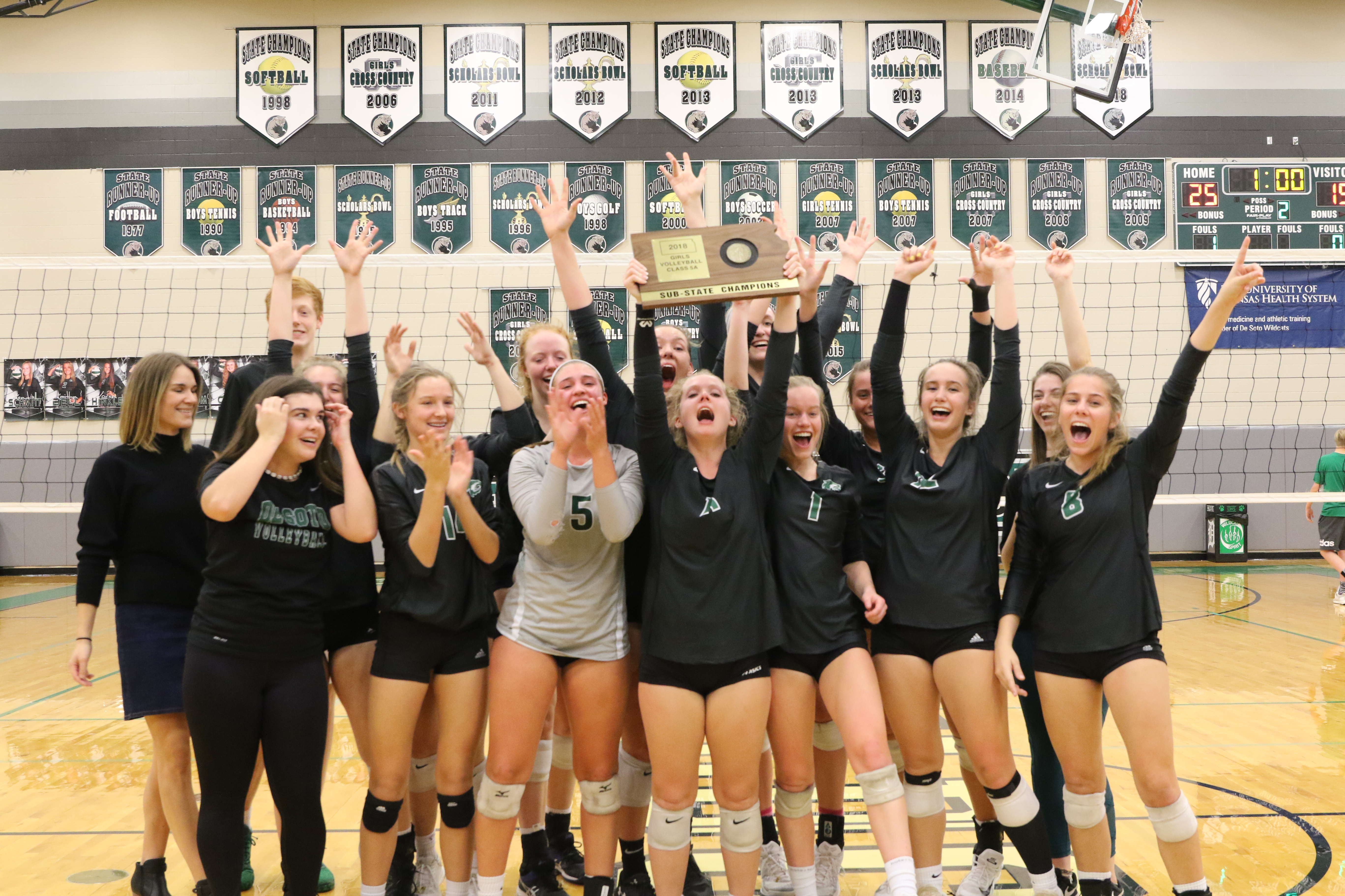 Varsity Volleyball Claims Sub State Championship