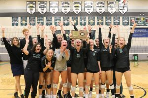 Varsity Volleyball Sub State Champions
