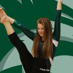 Molly Stack Represents DHS at State Gymnastics