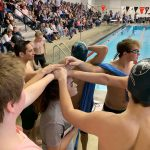 Boys Swim Results from BVW Meet