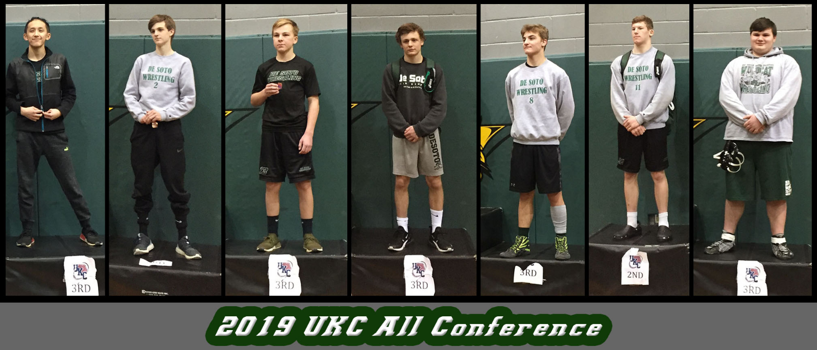 Seven Wildcat Wrestlers Earn UKC All Conference Honors