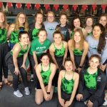 Girls Swim Takes 3rd at Lawrence High Invitational