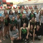 Girls swim takes 3rd at Lansing Senior Night Swim Meet