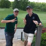 Boys Varsity Golf qualify two at Regionals held at Shawnee Golf and Country Club