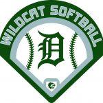 Varsity Softball beats Highland Park 15-0.