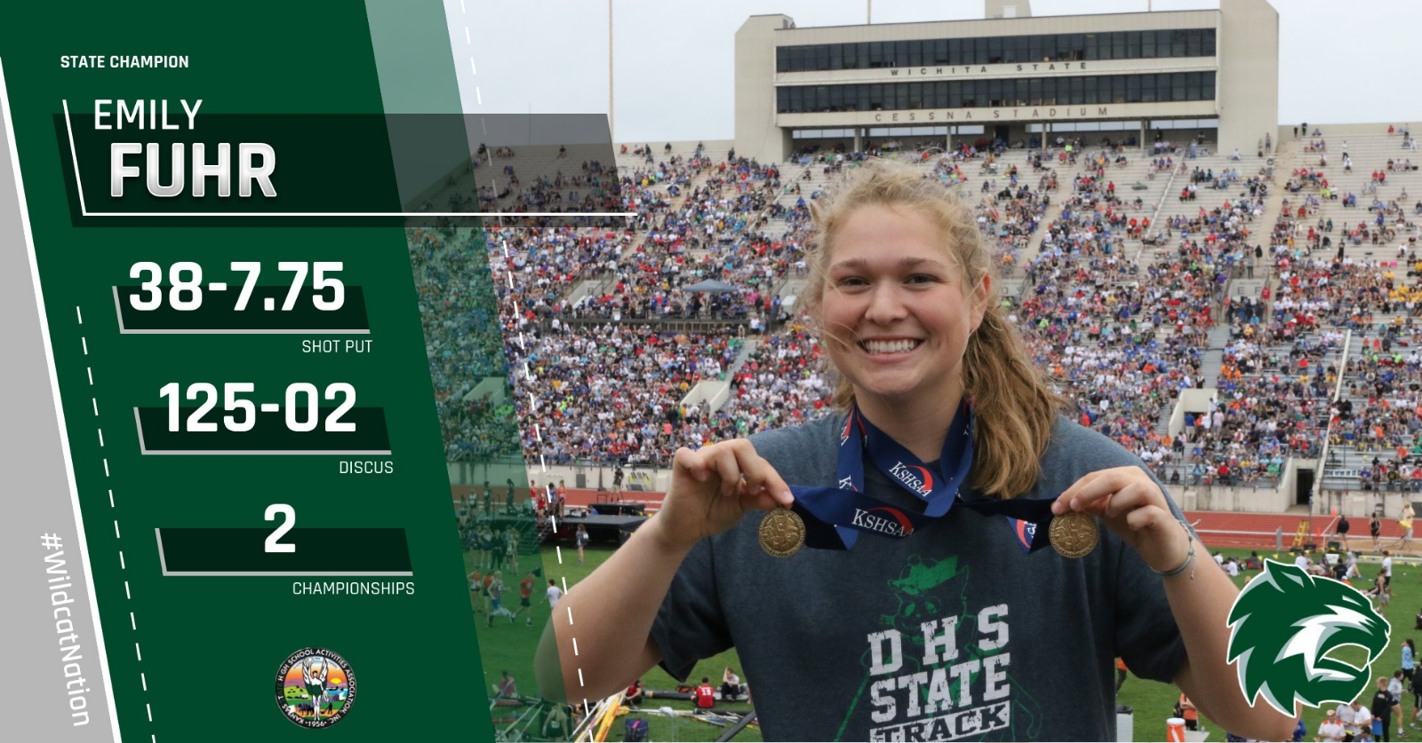 Emily Fuhr Wins Two State Championships