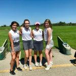 JV Girls Golf Gains Experience at Smiley's