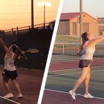 Girls Tennis Begins Season at Emporia Invitational