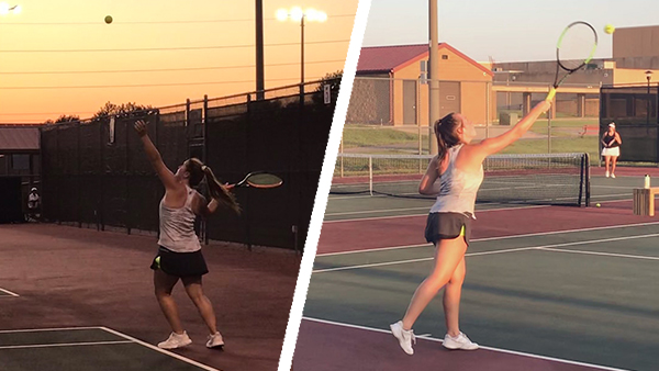 Girls Tennis Begins Season at Emporia Invitational