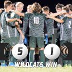 Varsity Boys Soccer Defeats Lansing 5-1