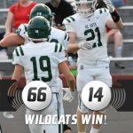 Varsity Football defeats Wyandotte 66 – 14