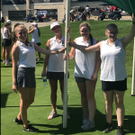 Varsity Girls Golf Results from Overland Park Golf Course