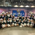 Cheer Finishes 5th in the State