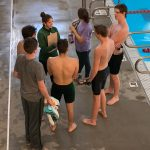 Boys Swimming Begins Season at Lansing Relays