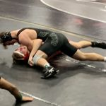 Wrestling in Action at the Lee's Summit North Invitational