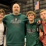 Wrestlers Finish Season at Kansas 5A State Tournament
