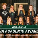 Volleyball Receives Academic Awards from KVA