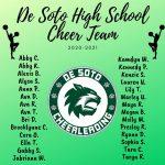 2020-21 Cheerleading Squad