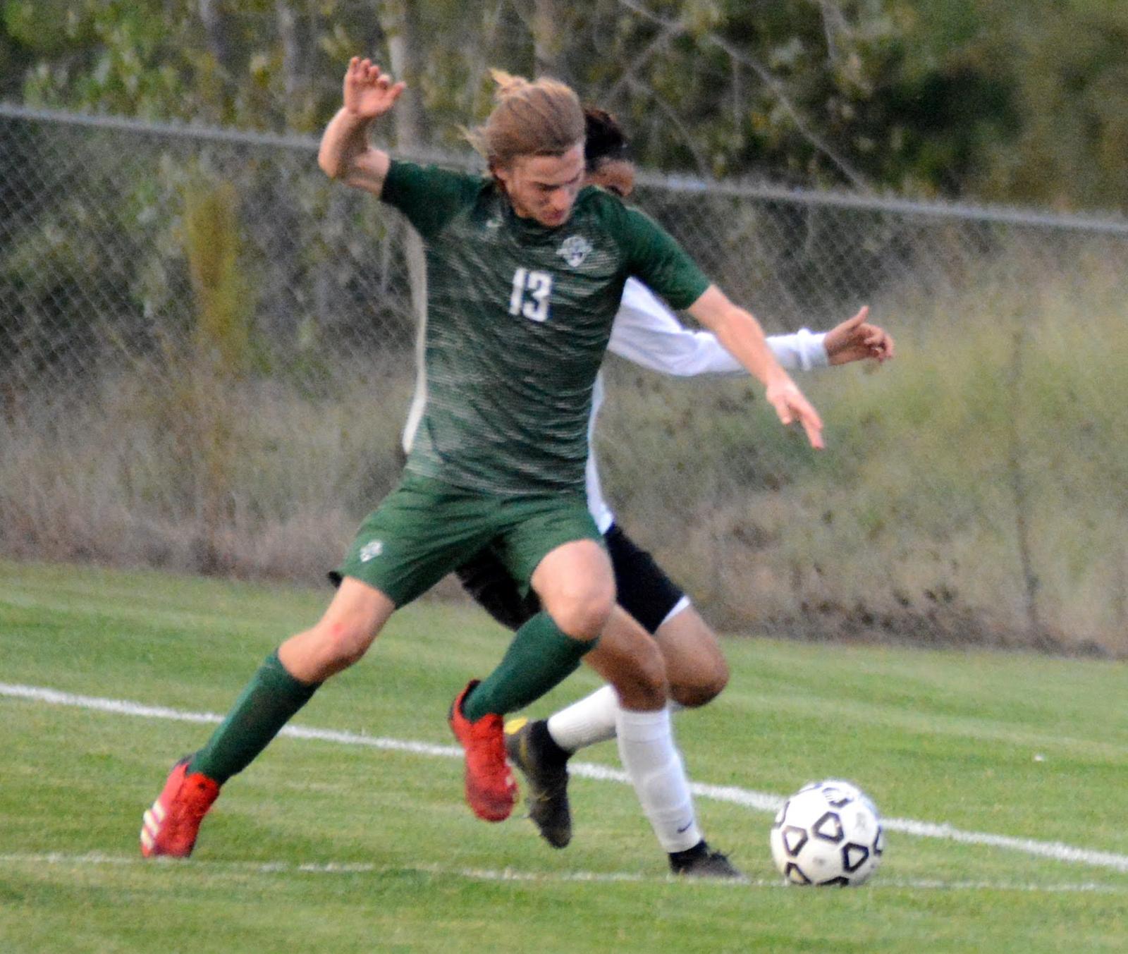 Boys Soccer Photos vs. Turner 9.15.20
