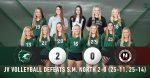JV Volleyball defeats Shawnee Mission North 2-0