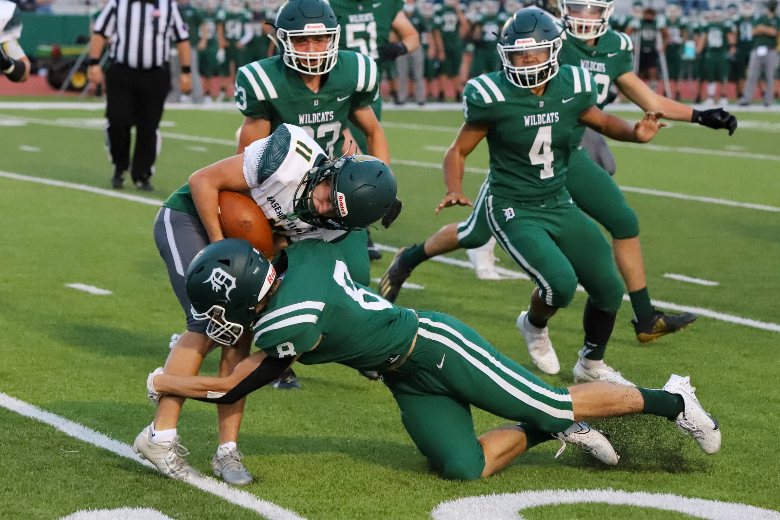 Varsity Football vs. Basehor-Linwood