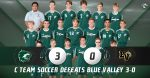 C Team Boys Soccer defeats Blue Valley 3-0