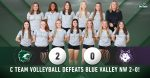 C Team Volleyball defeats Blue Valley Northwest