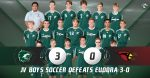 C Team Boys Soccer defeats Eudora 3-0