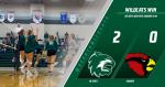 Varsity Volleyball defeats Eudora 2-0