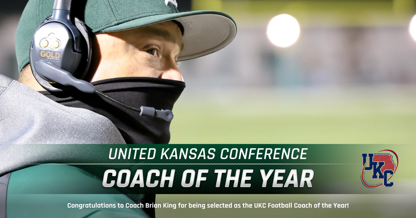 Coach King – UKC Coach of the Year