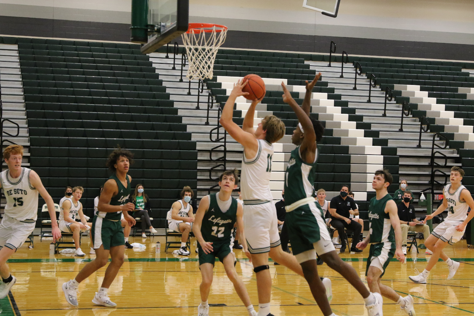 Varsity Boys Basketball vs. Lafayette: PHOTOS 12.9