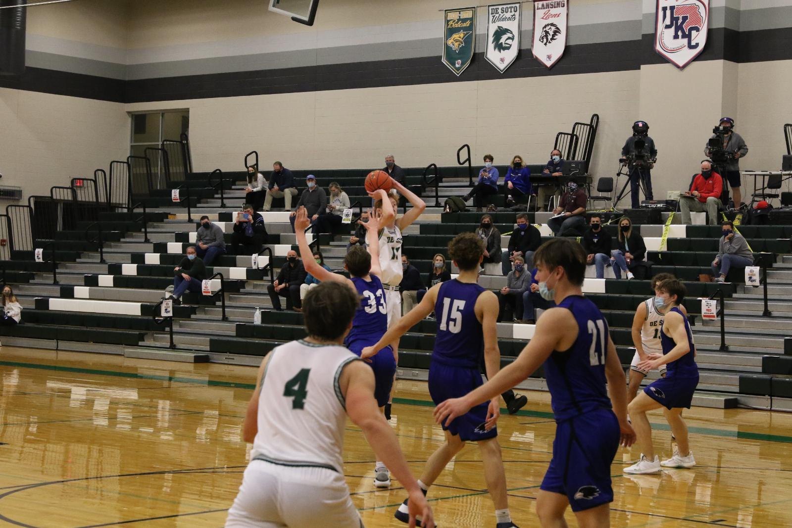 Varsity Boys Basketball vs. Olathe Northwest: PHOTOS 12.11