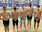 Varsity Boys Swimming Results from Olathe NW Meet