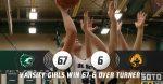 Varsity Girls Basketball defeats Turner 67-6