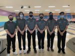 Boys Varsity places 1st at Crown Lanes, 2.1.2021