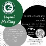 2021-22 Cheerleading Tryout Info