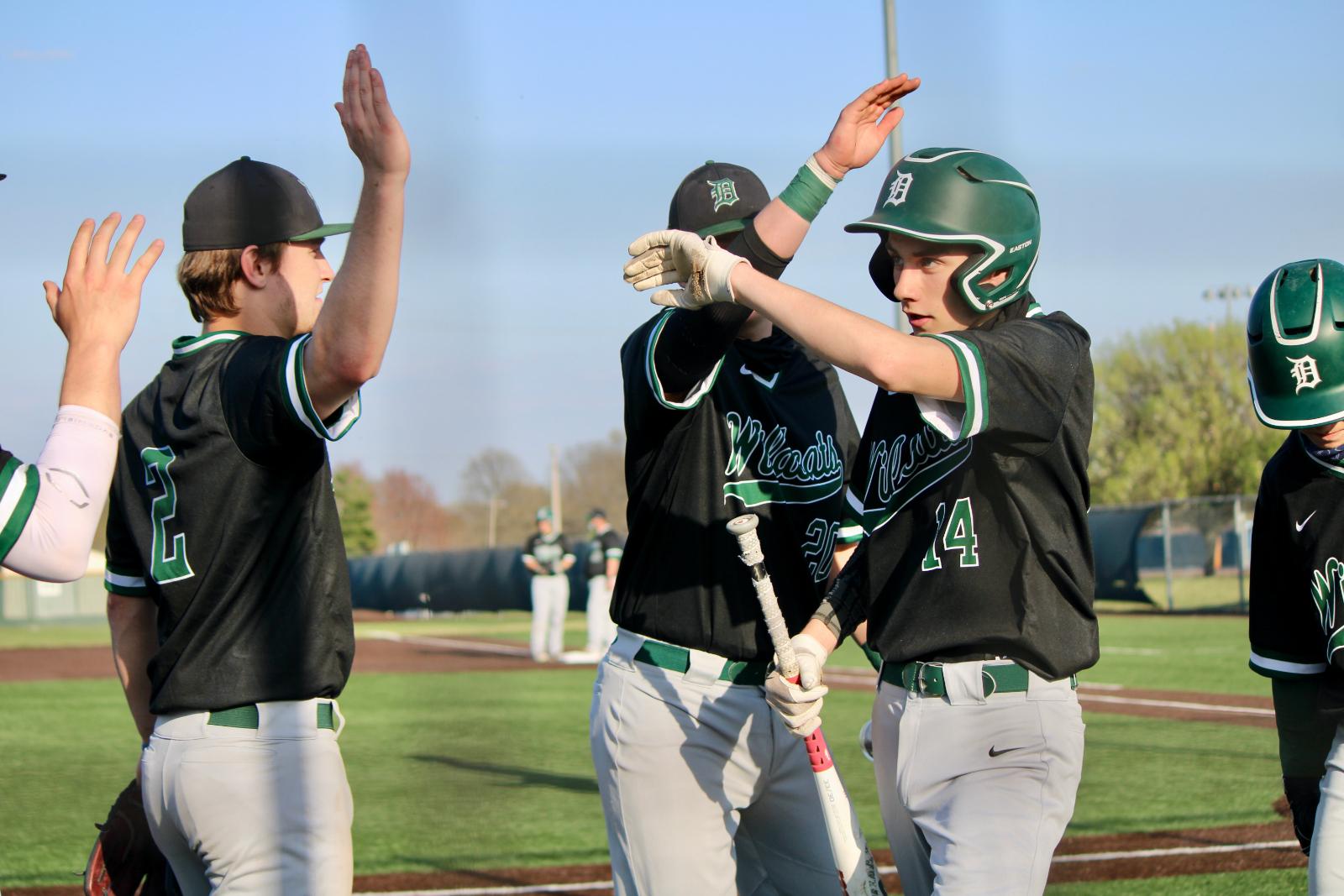 PHOTOS: Varsity Baseball @Seaman 4.5.21