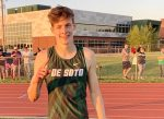 Hudelson Breaks School Record – Boys 1st, Girls 3rd at Home Meet