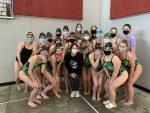 Varsity Girls Swimming Takes 3rd at Lansing
