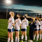 Girls Soccer at Burlington