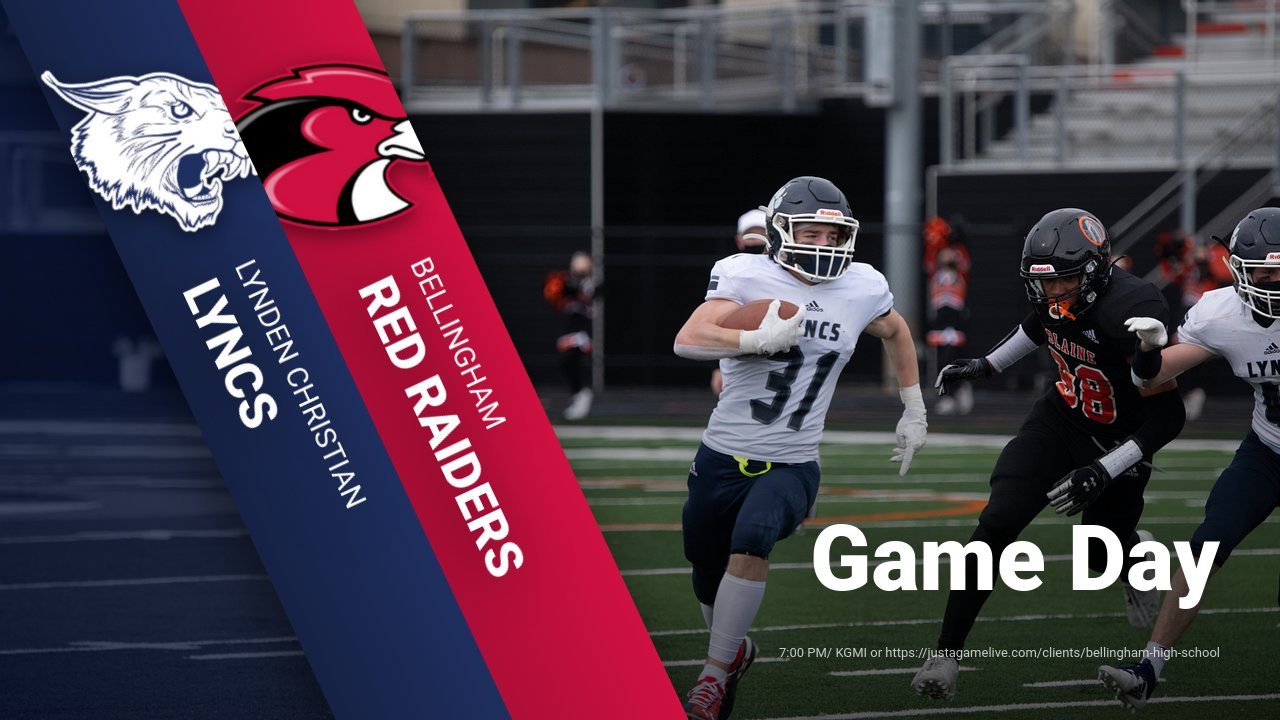 Football takes on Bellingham tonight at 7:00 PM