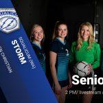 Senior day for girls soccer