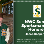 Jacob Kaepernick NWC Sportsmanship Honoree