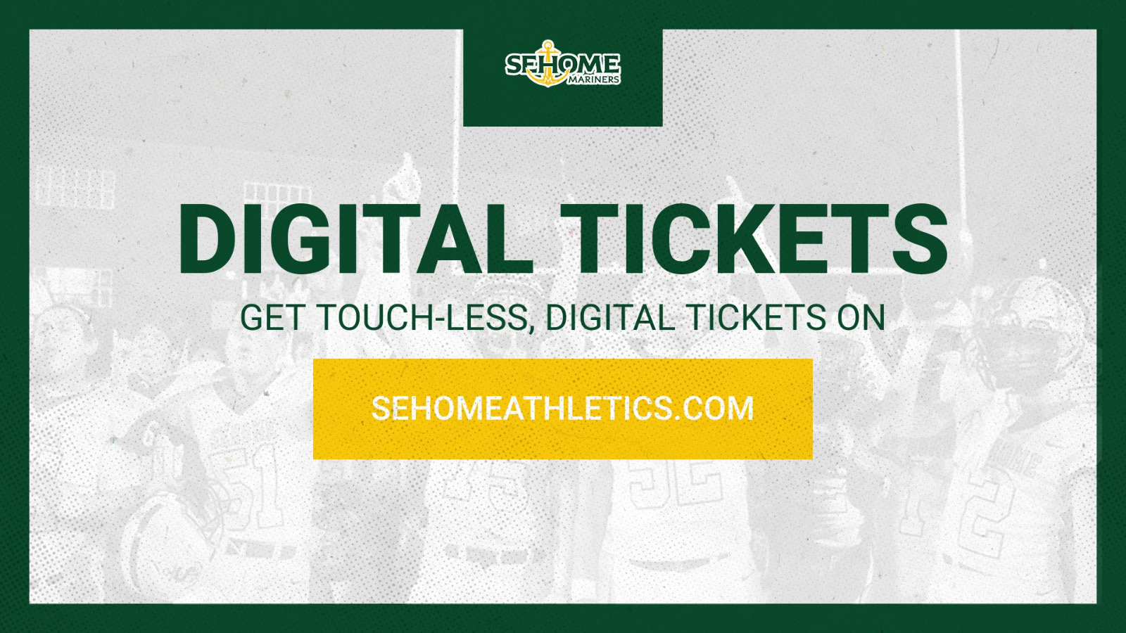 Digital Ticketing for Sehome Athletics