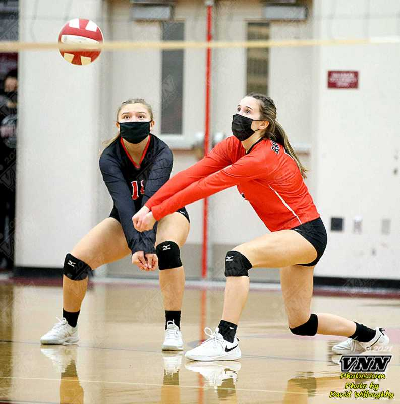 March 8th 2021 Varsity Volleyball Mt Baker at Bellingham